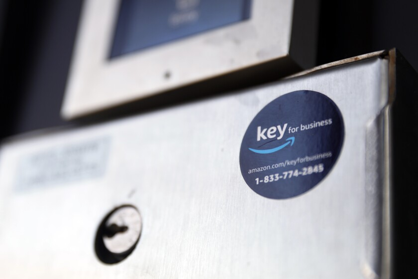 Amazon's Key for Business device