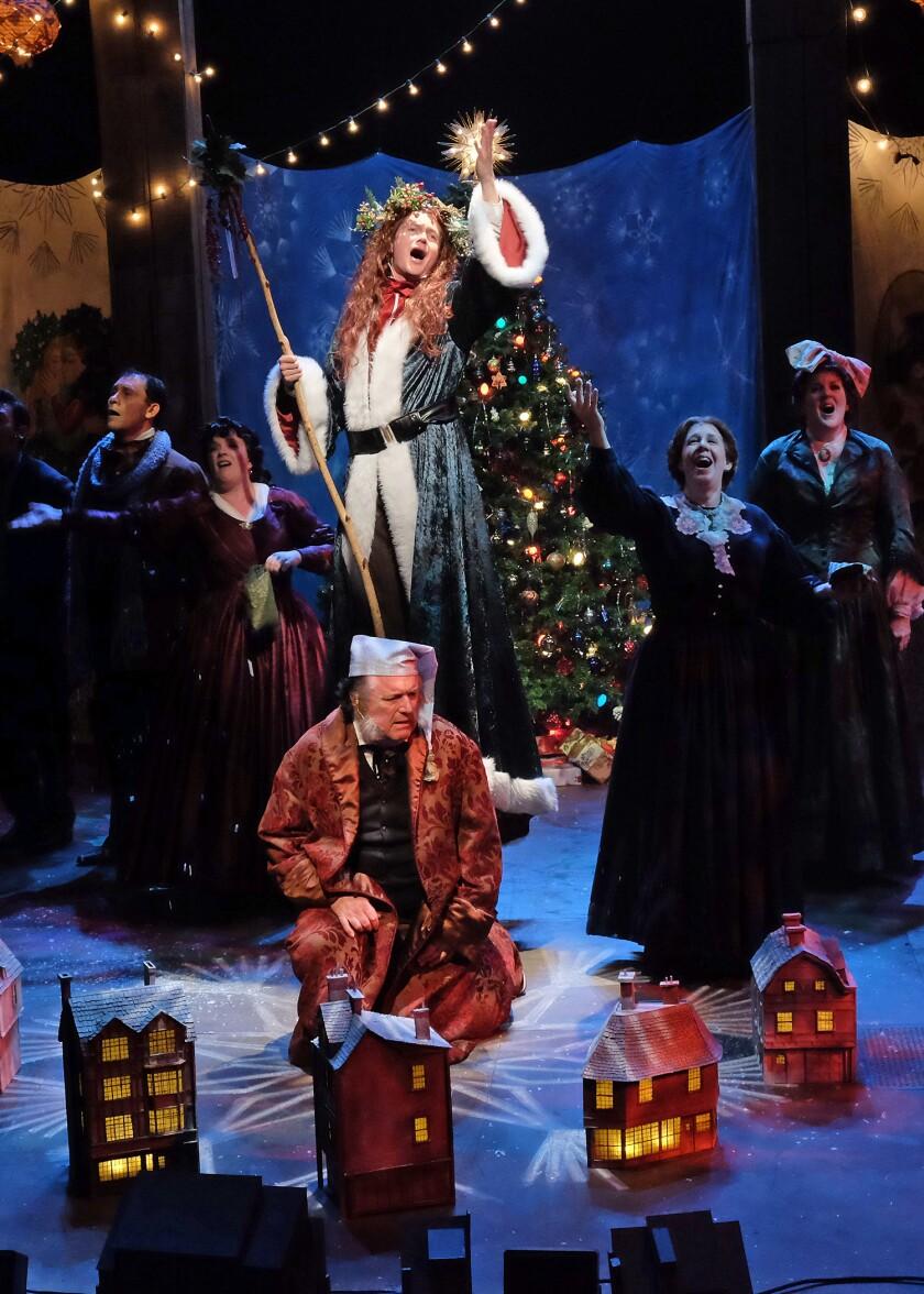 "Cygnet Theatre's ""A Christmas Carol"" returns on Nov. 23, 2021."