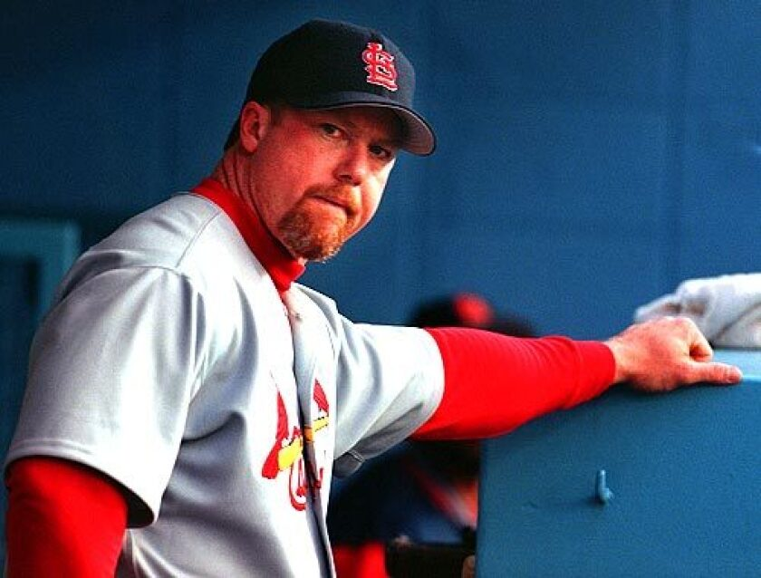 Mark McGwire back on the Hall of Fame ballot