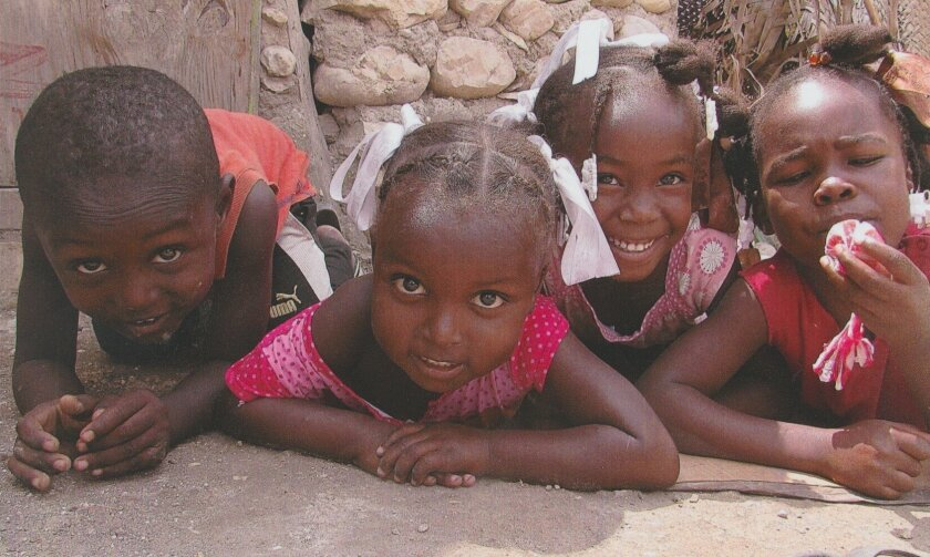 Children in Haiti
