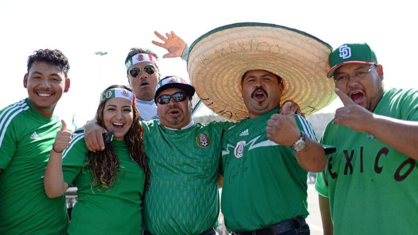 El amistoso entre México y Chile previo a la Copa América Centenario registró un lleno en Qualcomm Stadium, que tiene capacidad para más de 70,000 aficionados.