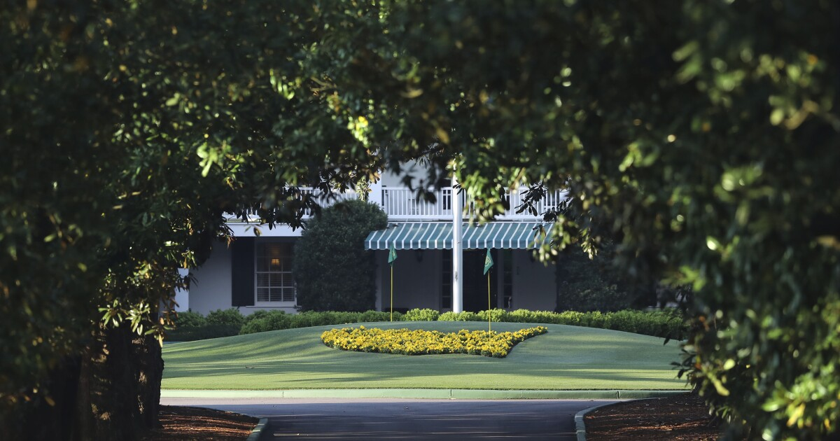 Column: The mythical, mystical world inside the gates of Augusta National