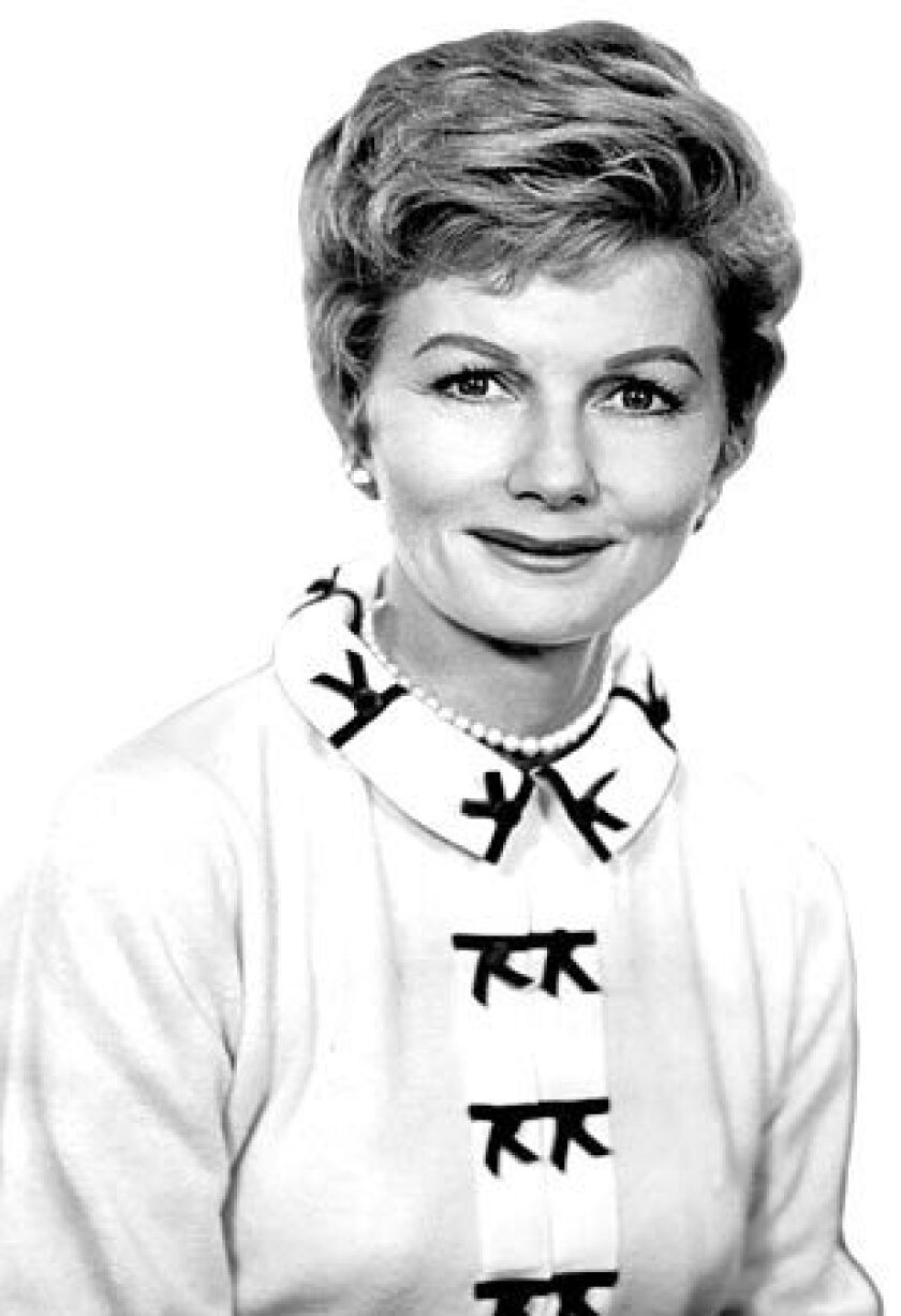 """Actress Barbara Billingsley played June Cleaver on TV's """"Leave It to Beaver"""" from 1957 to 1963."""