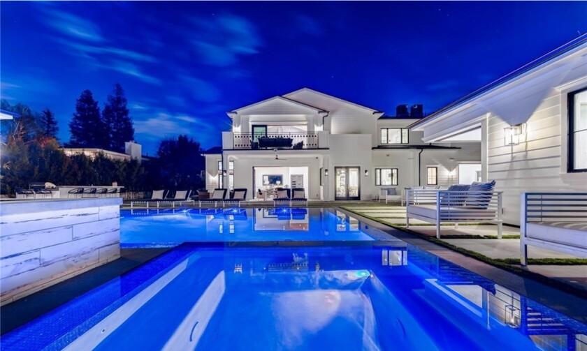 Brandon Mebane's Encino home
