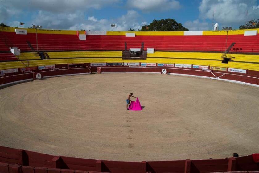Vista general de la Plaza de Toros de Mérida, en el estado de Yucatán (México), el sábado 20 de octubre de 2018. EFE/Archivo