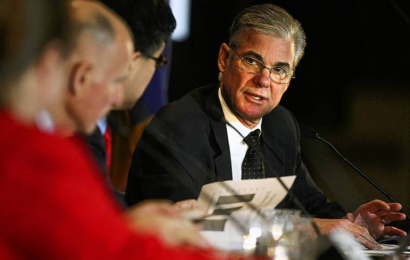 Tom Torlakson, state superintendent of public instruction, says there's no point in spending money on outdated testing.