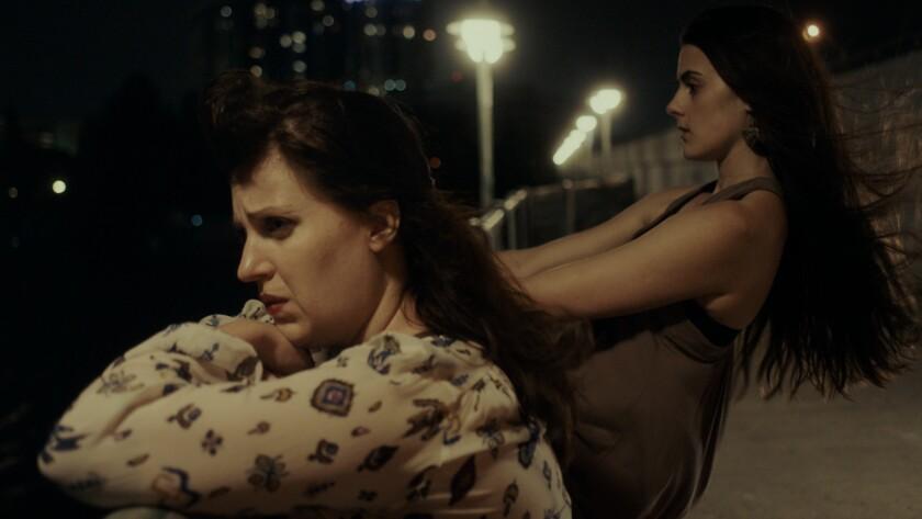 """Allison Tolman and Sophie Reid in """"Barracuda"""" movie."""