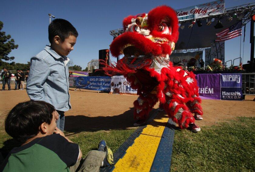 The Tet Festival in Mira Mesa