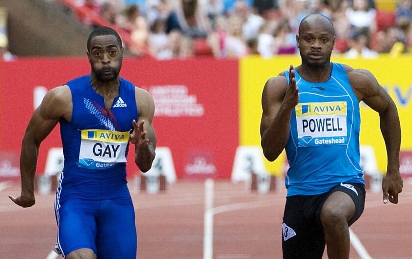 Tyson Gay, Asafa Powell