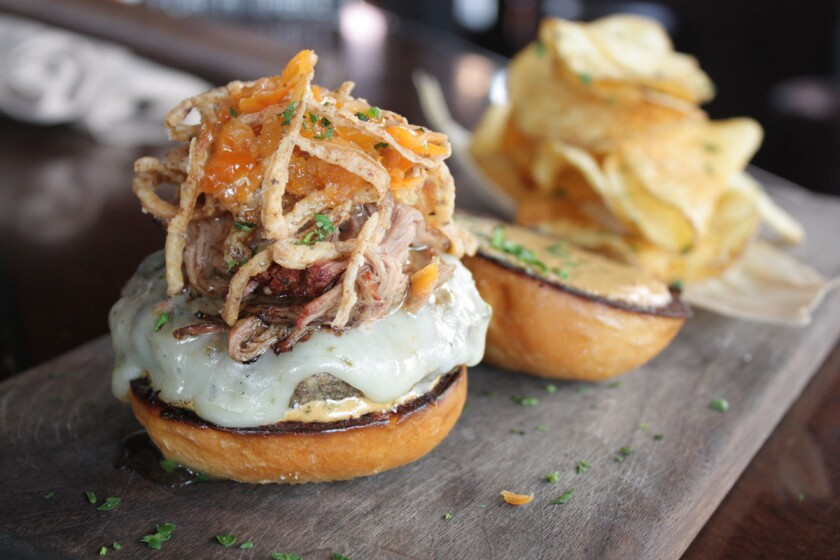 Barleymash's 'The Champ' sliders (Courtesy Photo)