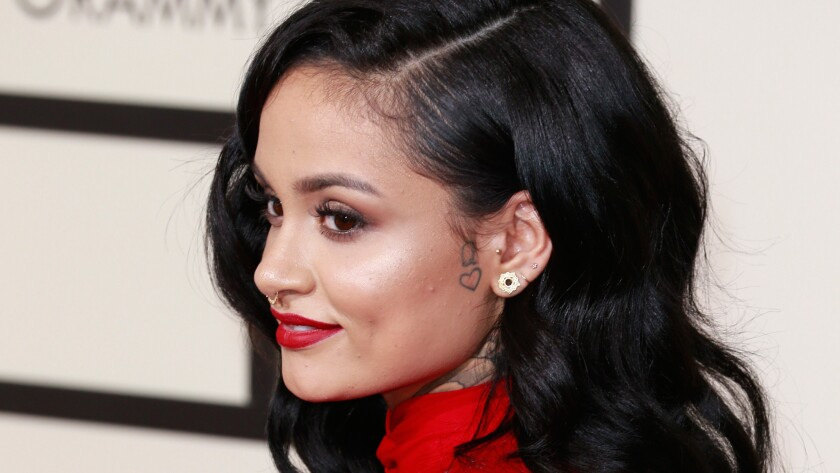 Kehlani appears at the Grammy Awards in February 2016.