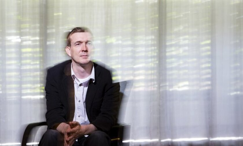 An interview with David Mitchell, the author behind 'Cloud Atlas'
