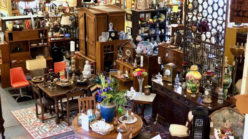 Purchases of antiques at Food for Thought in Sebastopol, Calif., help raise funds for Sonoma County residents affected by HIV and other illnesses.