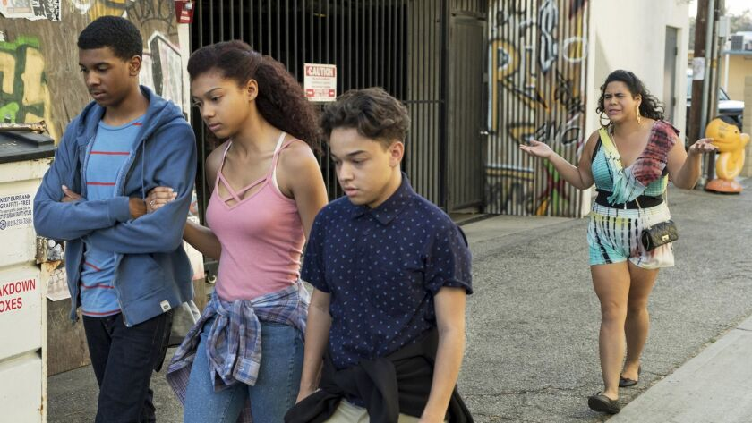 """Netflix coming-of-age comedy """"On My Block"""" follows four high school freshman as they navigate young adulthood -- and the hood."""