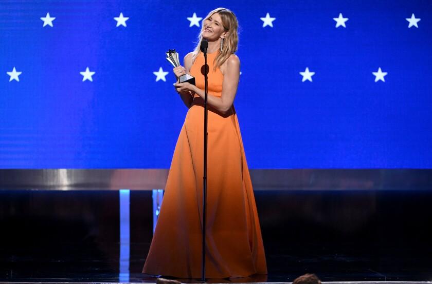 Laura Dern at the Critcs' Choice Awards