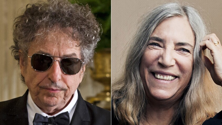 """Patti Smith will perform Bob Dylan's """"A Hard Rain's a-Gonna Fall"""" at the Nobel Prize banquet Saturday."""