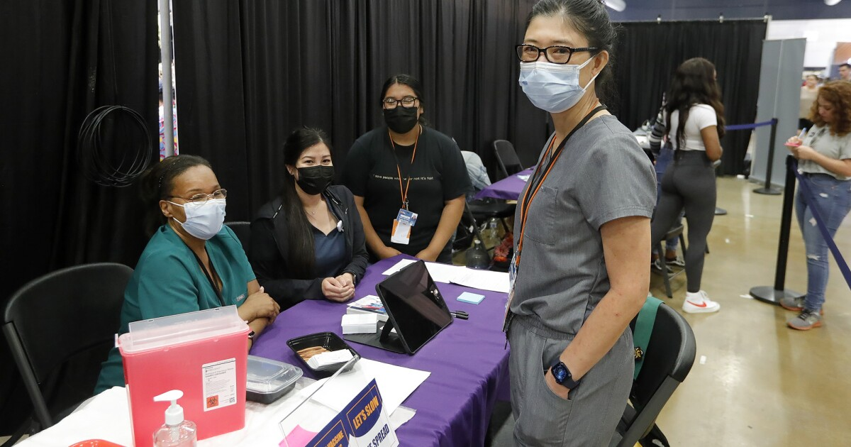 Vaccinations at the O.C. Fair? With county infections rising, officials say it's worth a shot