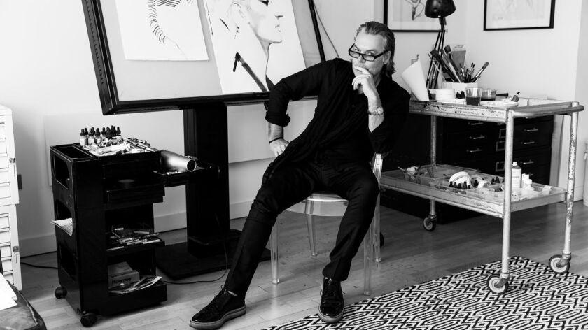 Illustrator and celebrity portrait artist David Downton.