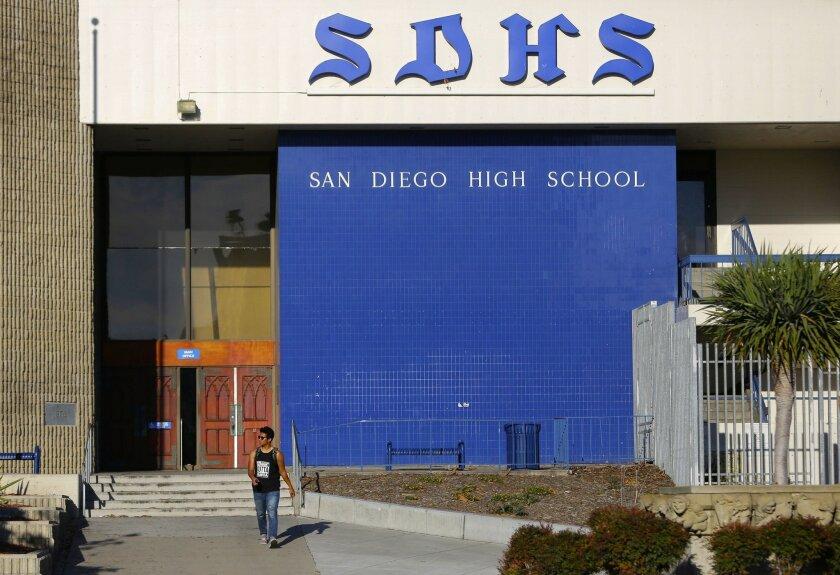 Photo of San Diego High School