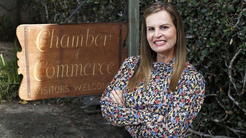 Paula Hornbuckle-Arnold is the new executive director of the Laguna Beach Chamber of Commerce.