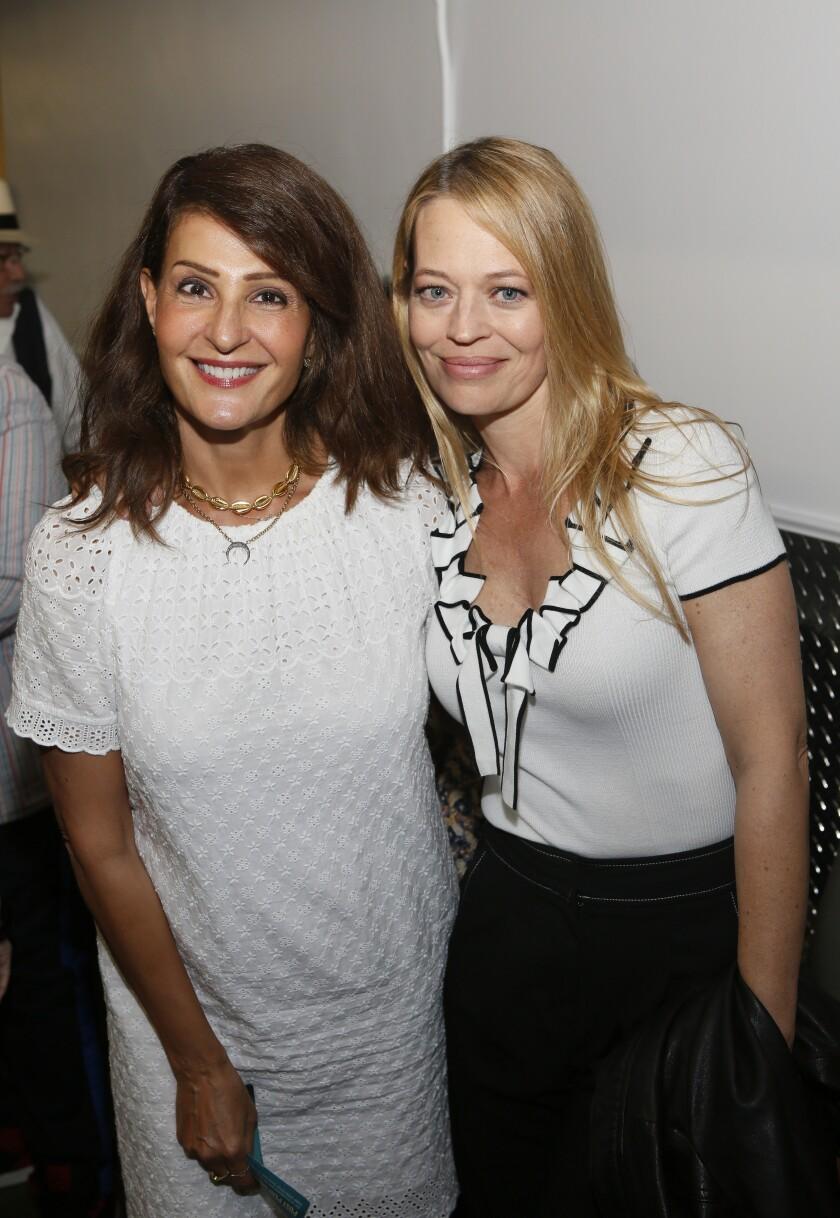 Nia Vardalos, left, and Jeri Ryan