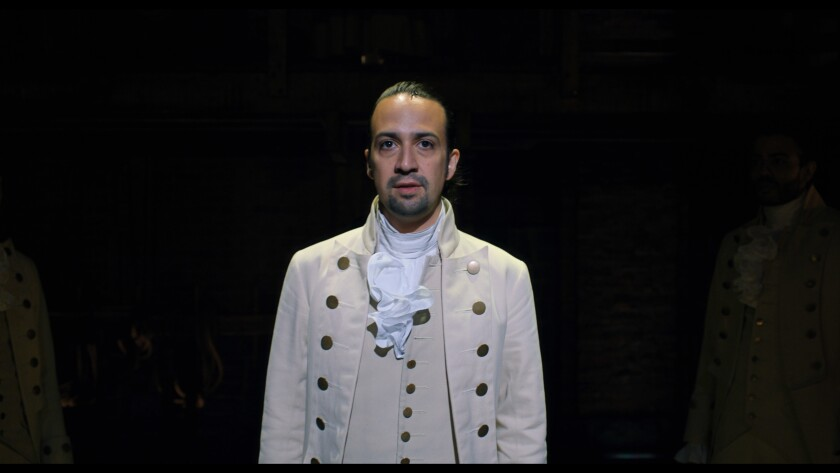 """The director of """"Hamilton"""" made key decisions to properly preserve Lin-Manuel Miranda's musical on film."""