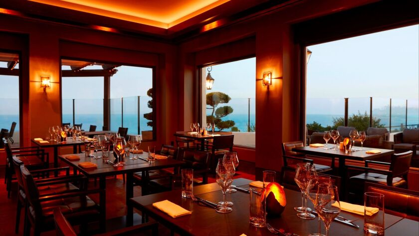 Some Food & Wine Weekend events will be held at Angel Oak restaurant at Bacara Hotel & Spa.