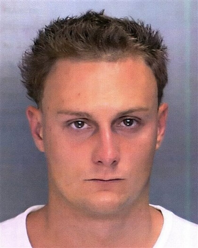 This is a photo released by the Philadelphia police of Francis Kirschner, 28, who is being sought in connection with the beating and kicking of 22-year-old David Sale of Lansdale, Pa., outside Citizens Bank Park during a Philadelphia Phillies-St. Louis Cardinals baseball game Saturday, July 25, 200