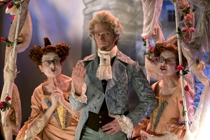 """Neil Patrick Harris is up to no good in the Netflix series """"A Series of Unfortunate Events."""""""