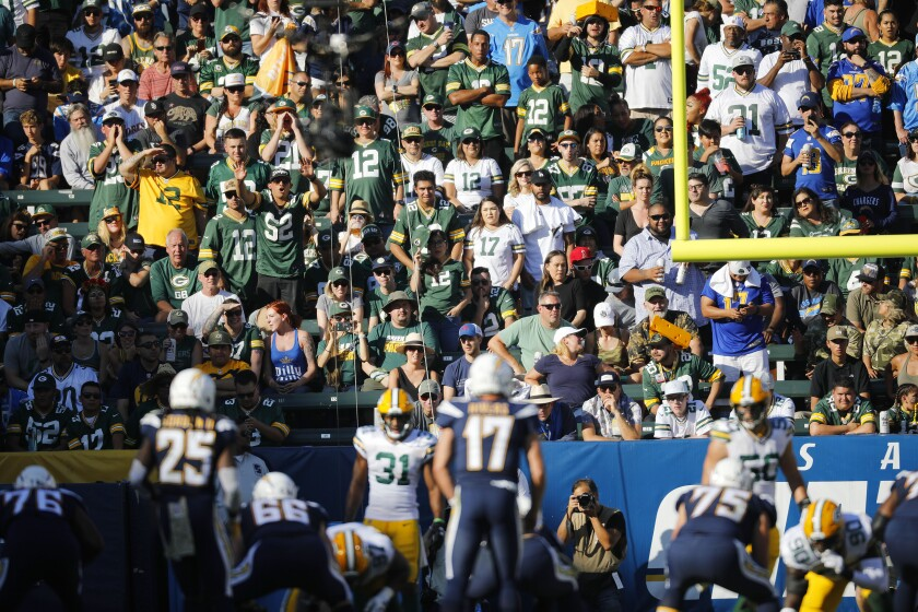 Chargers vs. Packers 11/3/19