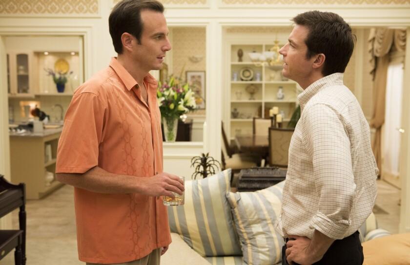 "Will Arnett, left, and Jason Bateman star in ""Arrested Development."""