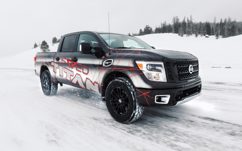 For the first time ever, Nissan is offering a factory-authorized suspension lift kit for select models of the TITAN and TITAN XD full-size pickups. The bolt-on kits, developed by California-based ICON Vehicle Dynamics, offer a more aggressive exterior appearance, increased ground clearance and a suspension lift of up to three inches.