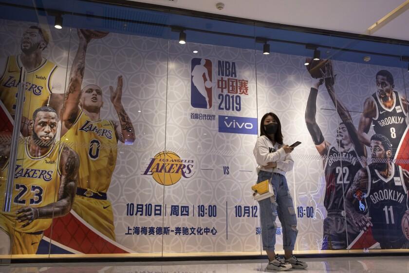 CHINA-NBA