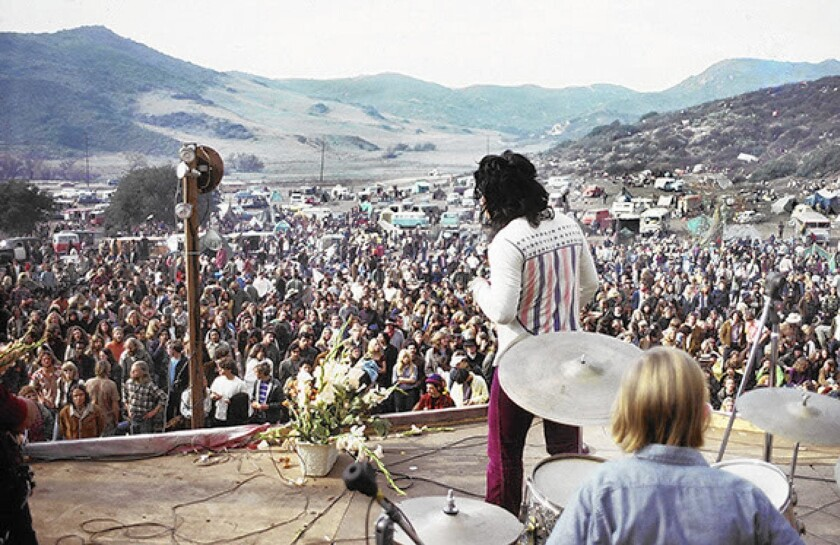 On Christmas Day, 1970, approximately 25,000 young people gathered in Laguna Canyon for a one-day music event. It ended after three days.