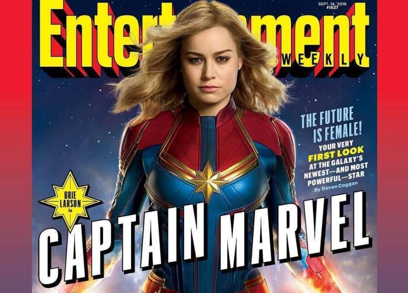 Así luce Brie Larson en 'Captain Marvel'.