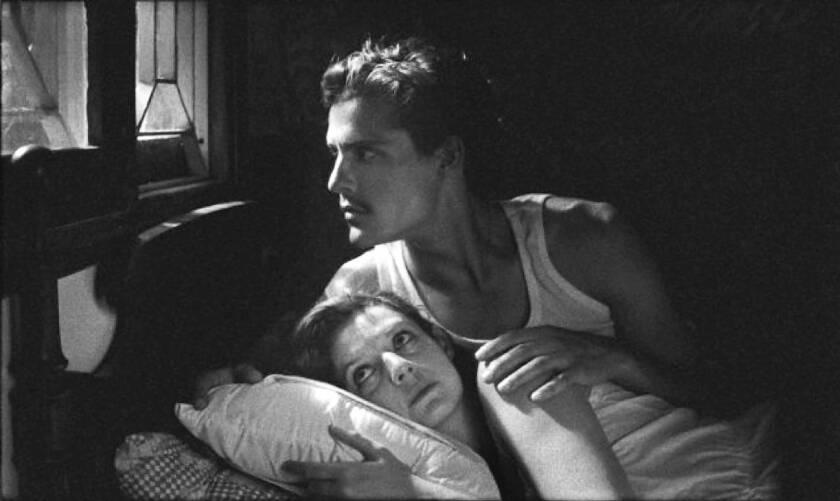 "Ana Moreira and Carloto Cotta in ""Tabu."""