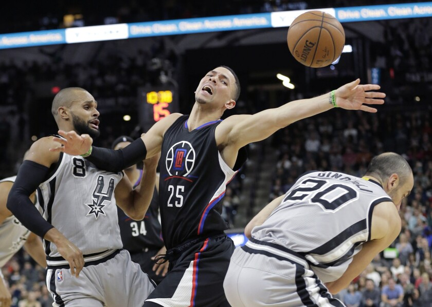 Five take aways from the Clippers' 115-107 loss to the Spurs