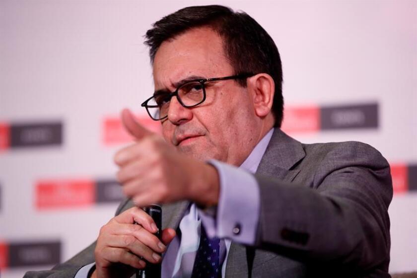 El ministro de Economía de México, Ildefonso Guajardo. EFE/Archivo