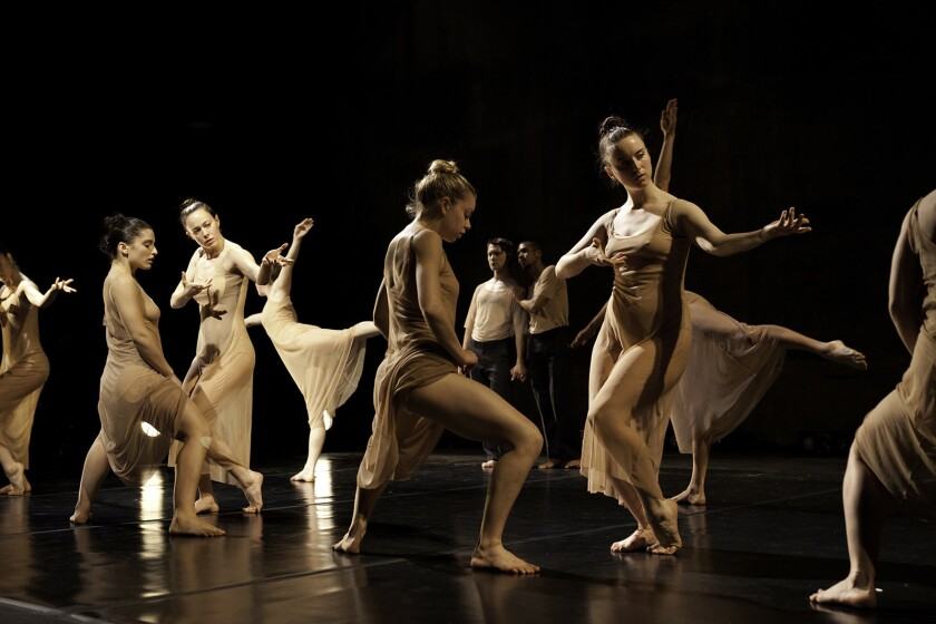 Choreographer Danielle Agami's Ate9 dance company performs at Temple Israel of Hollywood on Sunday and Monday.