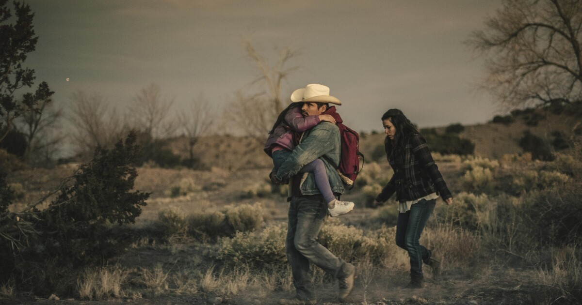 Review Harsh Realities Of Immigration Drive Overly Earnest Frontera Los Angeles Times