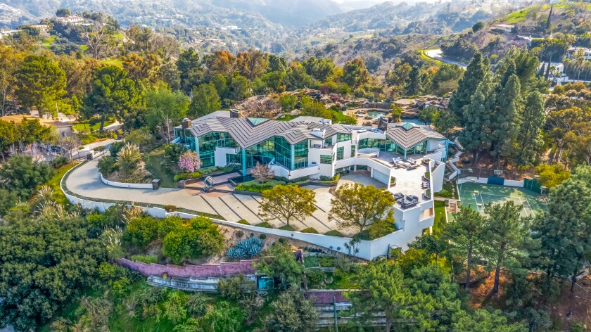 Pharrell Williams has listed an ultra-modern home with 10 bedrooms and 11 bathrooms in Beverly Hills.
