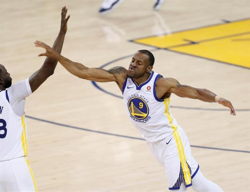En la imagen, el jugador de los Warriors de Golden State Andre Iguodala. EFE/Archivo