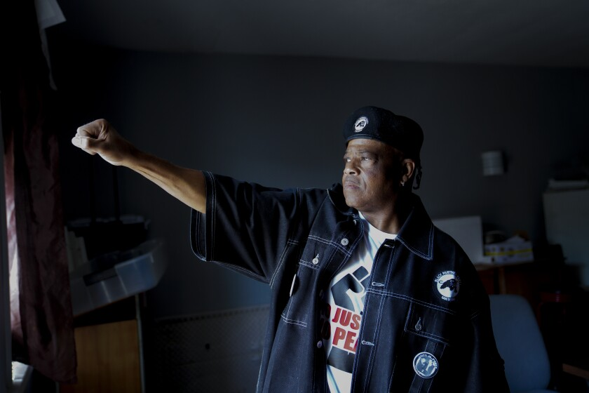 It was family affair when Patrick J. Germany, 60 joined the Black Panther Party when he was only 10-years old.