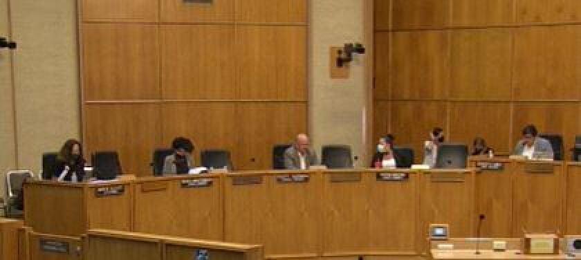 San Diego City Council meeting on Aug. 6, 2020.