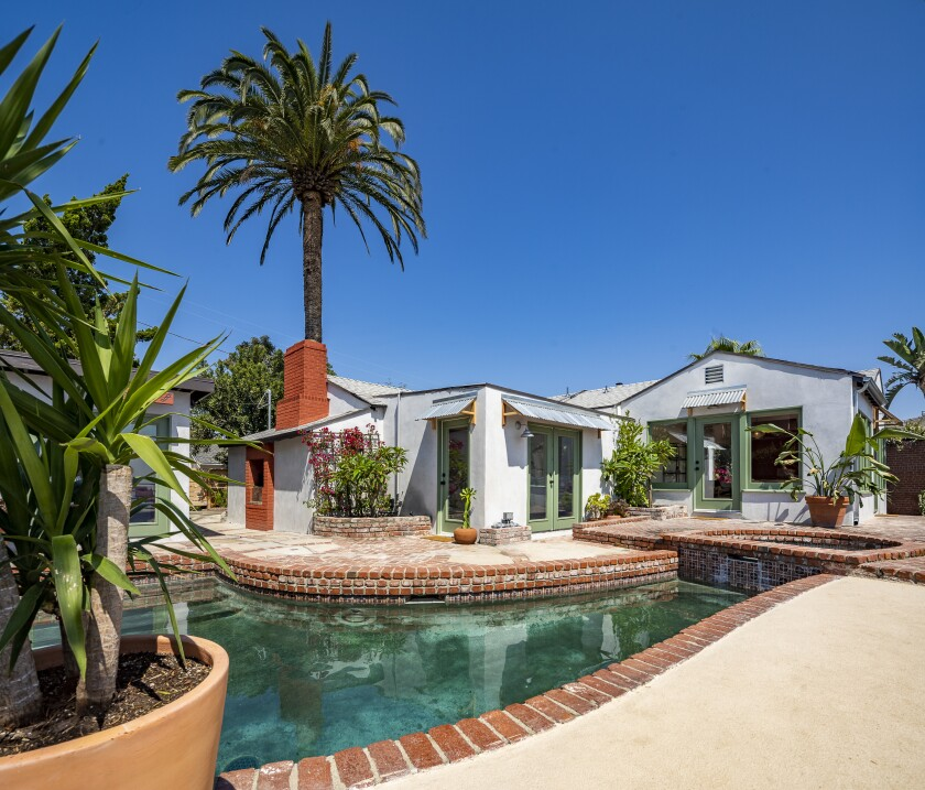 Corbin Bernsen and Amanda Pay's Laurel Canyon compound
