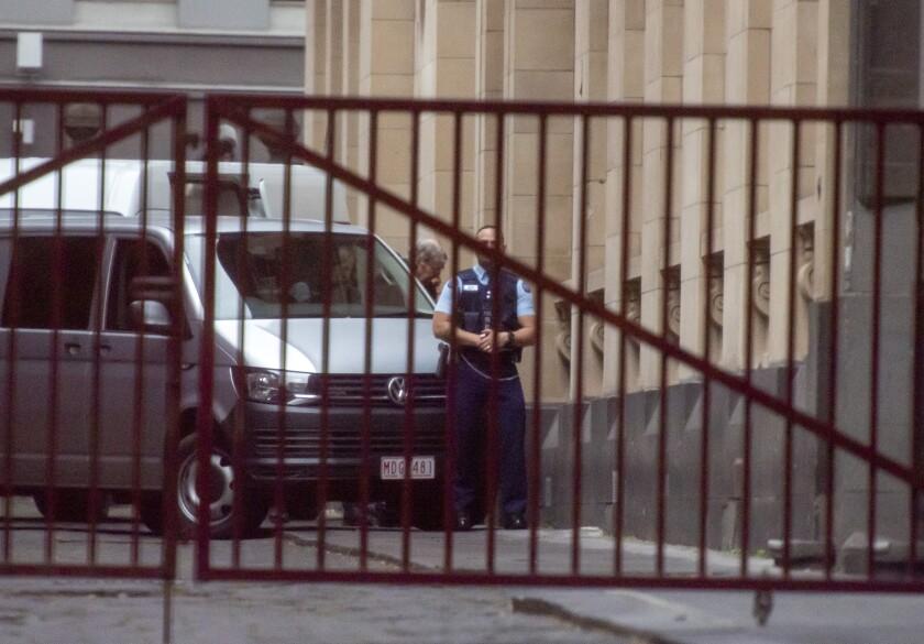 APTOPIX Australia-Cardinal Charged