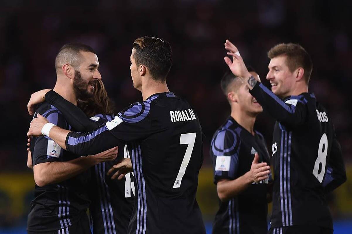 Los goles de Karim Benzema y Cristiano Ronaldo metieron al Real Madrid en la final del Mundial de Clubes de la FIFA tras imponerse 2-0 al América de México en el Mundial de Clubes Japón 2016.