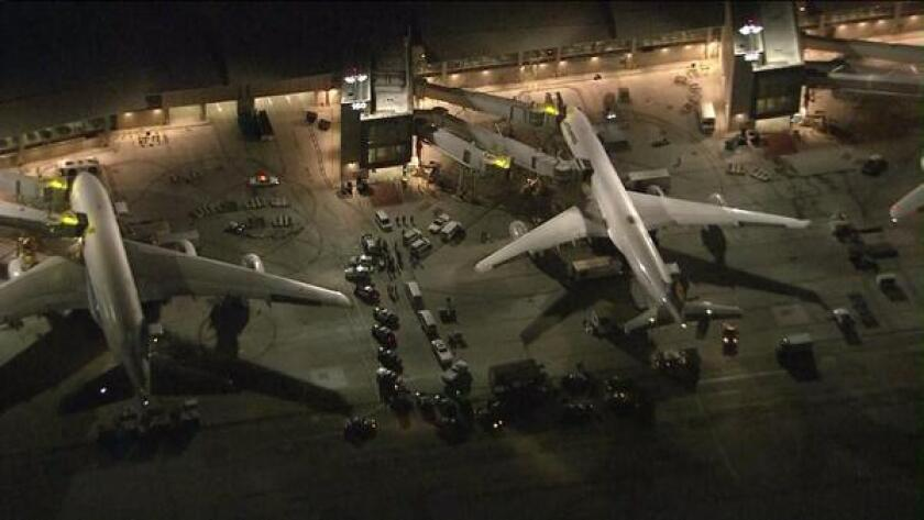 A dry ice bomb exploded at LAX on Monday night, the second one to detonate there in little more than 24 hours.