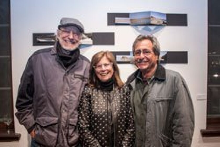 A trio of architects: Rob Quigley, Janice Kay Batter and Michael Batter