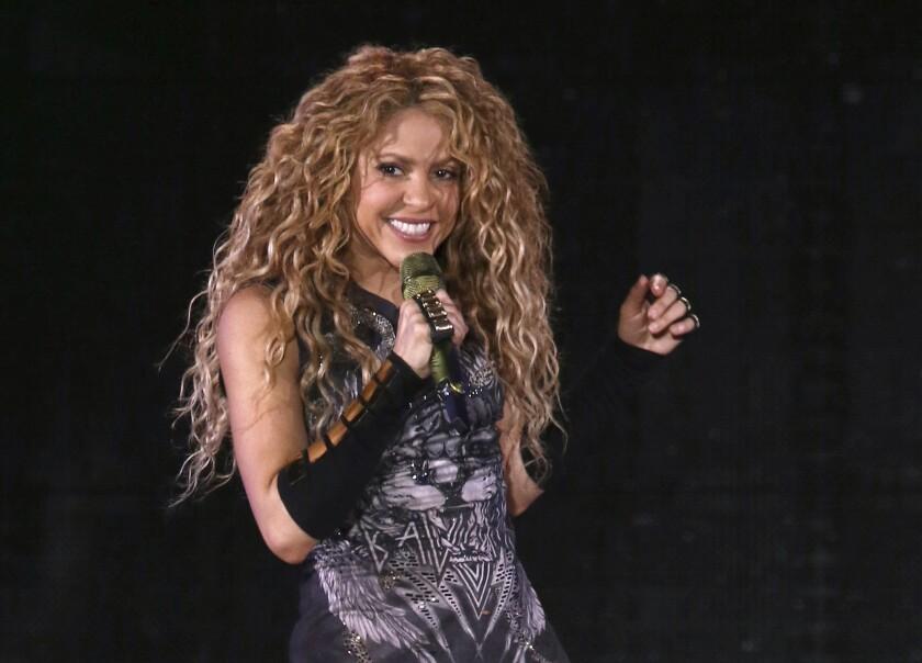 En esta foto del 10 de agosto de 2018, Shakira da un concierto en el Madison Square Garden